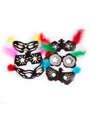 6 masker fastelavn
