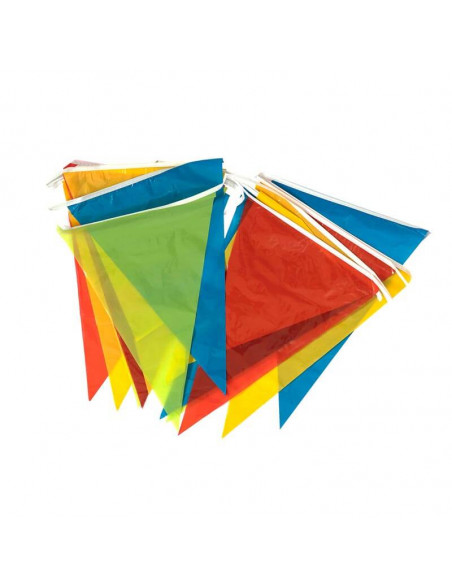 Flagbanner 3 meter i længde forskellig farve